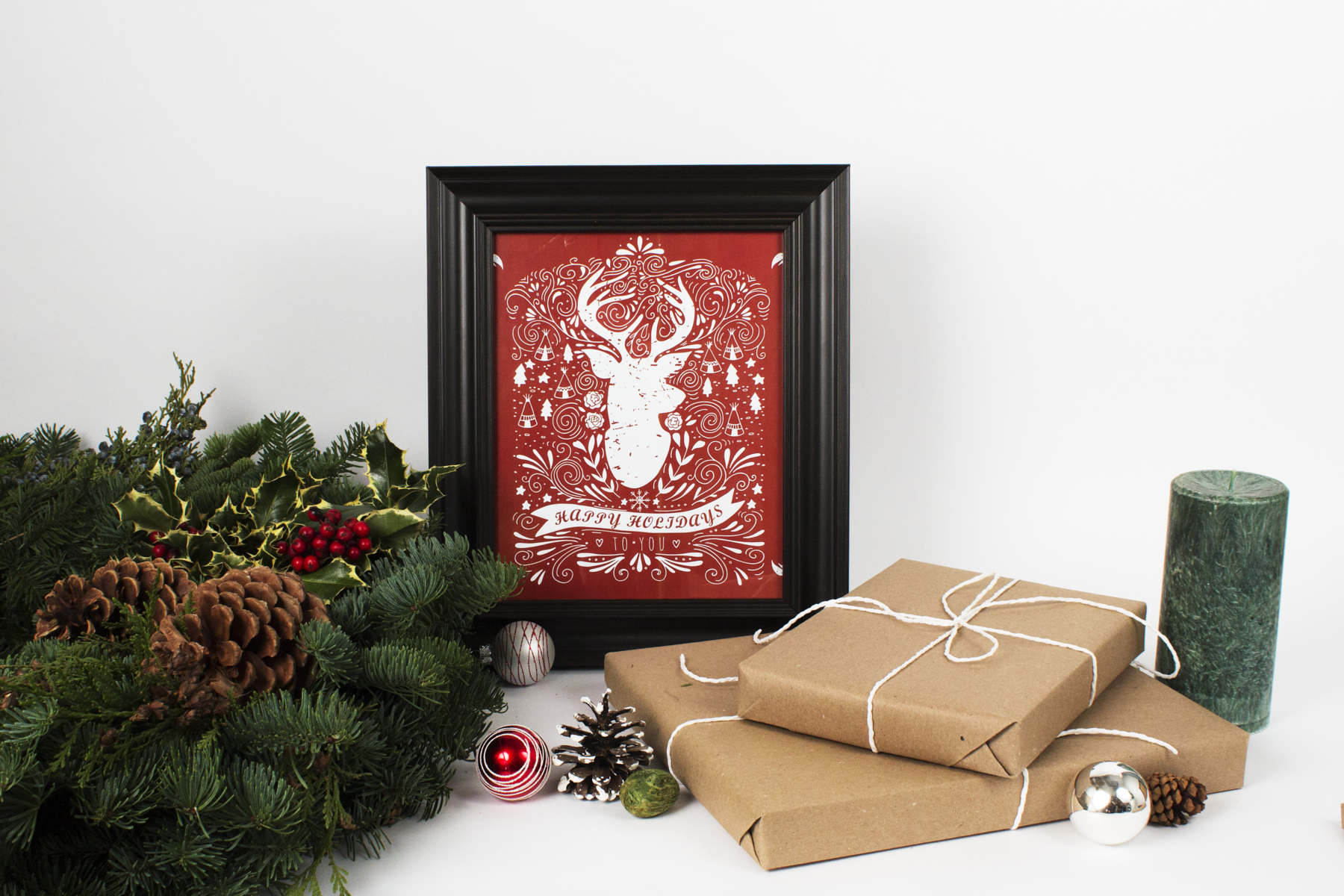 Christmas framed photos