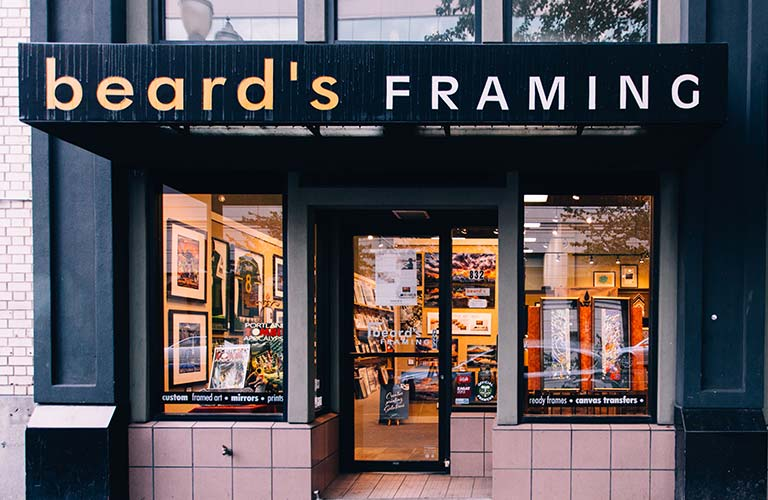 Northwest framing brands beards framing stores store locations downtown portland beards framing solutioingenieria Image collections