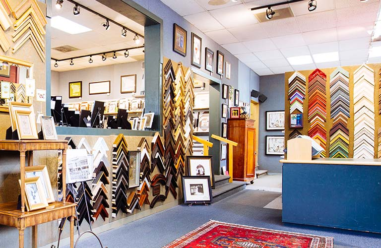 raleigh hills beards framing - Downtown Framing Outlet
