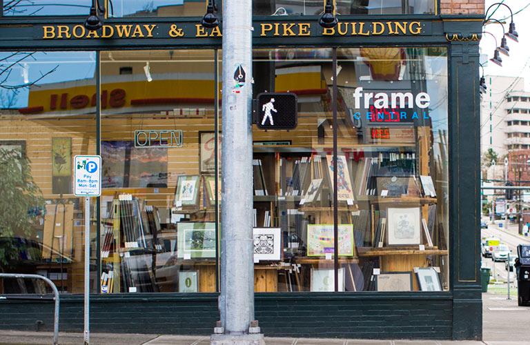Northwest framing brands frame central stores capitol hill frame central solutioingenieria Choice Image