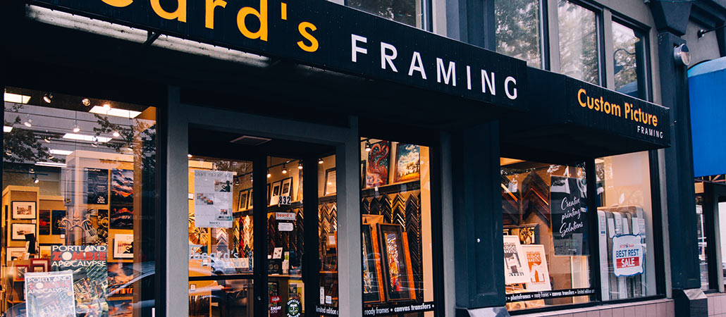 store hours - Downtown Framing Outlet