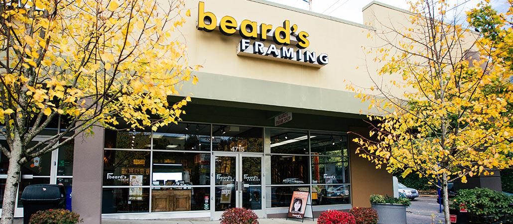 Northwest Framing   Raleigh Hills Beard\'s Framing