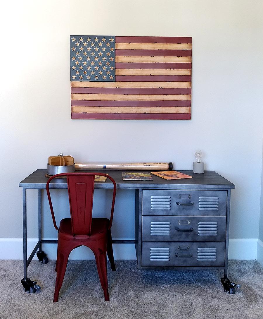 Northwest Framing | flag-desk